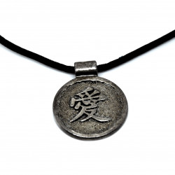 """Pendentif chinois """"Amour"""""""
