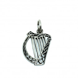 Pendentif harpe celtique en...