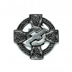 Pin's croix celtique énergie