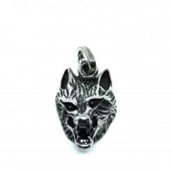Pendentif tête de loup