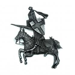 Pin's chevalier croisé