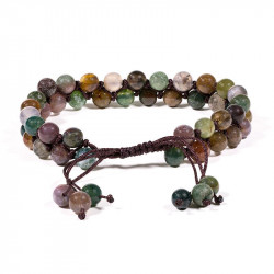 Bracelet d'agates