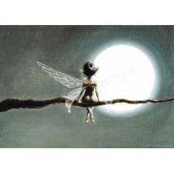 Affichette : la fée au...
